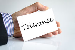 Tolerance Concept Stock Photo
