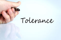 Tolerance Concept Royalty Free Stock Photo