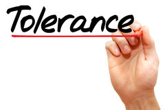 Tolerance Stock Photo
