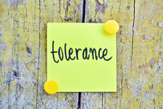 Tolerance Stock Images