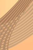 Tolerancia de la geometría - en beige. Fotos de archivo