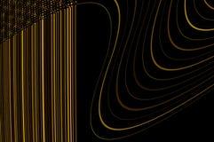 Tolerancia de la geometría - en oro. Imagen de archivo