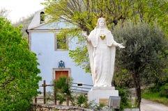 Tolerancias de Madonna, Castel San Vincenzo Imágenes de archivo libres de regalías