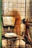Toletta pubblica Fotografia Stock Libera da Diritti