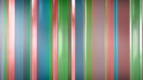 tolkning 3D av abstrakta tunna glass paneler i utrymme Paneler sken och reflekterar sig Arkivfoton