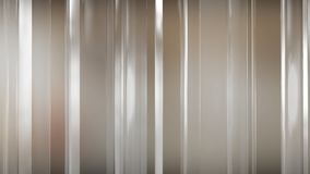 tolkning 3D av abstrakta tunna glass paneler i utrymme Paneler sken och reflekterar sig Arkivbild