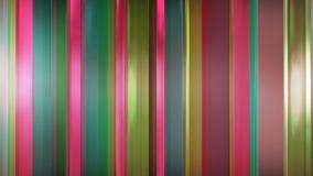 tolkning 3D av abstrakta tunna glass paneler i utrymme Paneler sken och reflekterar sig Royaltyfria Bilder