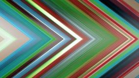 tolkning 3d av en abstrakt vinkelformig sammansättning som består av paneler och linjer Royaltyfri Fotografi