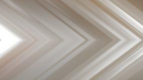 tolkning 3d av en abstrakt vinkelformig sammansättning som består av paneler och linjer Arkivbild