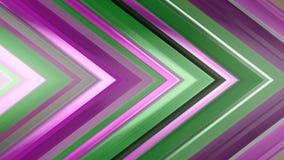 tolkning 3d av en abstrakt vinkelformig sammansättning som består av paneler och linjer Royaltyfria Bilder