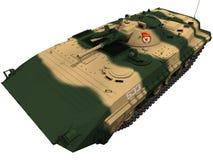 tolkning 3d av en sovjet BMP-1 Royaltyfri Foto