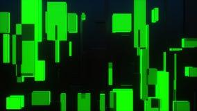 tolkning 3d av TV-sändningrektanglarna arkivbild