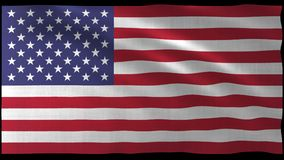 tolkning 3d av USA flaggadesignen med den trevliga vågen Royaltyfria Foton