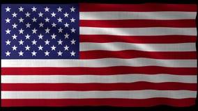 tolkning 3d av USA flaggadesignen med den trevliga vågen Arkivfoto