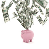 Tolkning för begrepp 3D för ekonomisk rikedom Royaltyfri Bild
