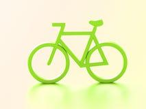 Tolkning för cykel 3d stock illustrationer