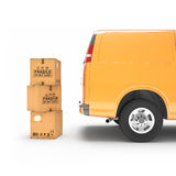 Tolkning för hemsändningbil 3d Royaltyfria Bilder