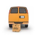 Tolkning för hemsändningbil 3d Fotografering för Bildbyråer