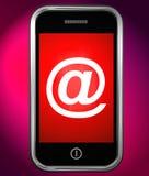 Tolkning för skydd 3d för hot för Phishing mejlinternet Arkivbilder