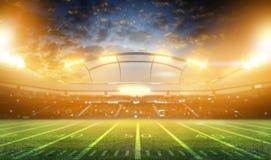tolkning för stadion 3d Arkivfoto