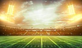 tolkning för stadion 3d Royaltyfria Bilder