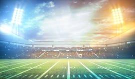 tolkning för stadion 3d Arkivbilder
