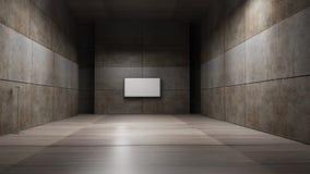 Tolkning för TVskärm 3d Arkivbild
