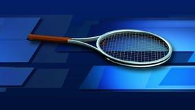 Tolkningvideo i HD av en tennisracket