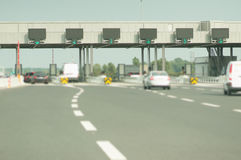 Toll booth Stock Photos
