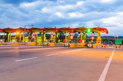 Toll booth station Stock Photography