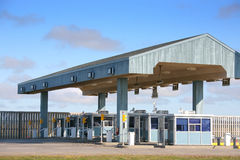 Toll Booths Royalty Free Stock Photos