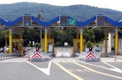 Free Toll Gate In Croatia Royalty Free Stock Images - 20190099