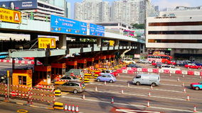 Toll gates at hung hom, hong kong Stock Images