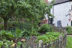 Toll House vegetable garden Royalty Free Stock Photography