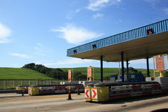 Toll plaza. In south africa royalty free stock photo