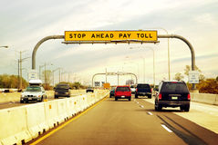 Toll Road Royalty Free Stock Image