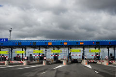 Toll road Stock Photos