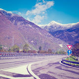 Toll Road Stock Photography