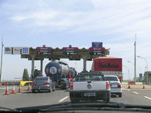 Toll station Royalty Free Stock Photography