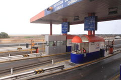 Toll Station Royalty Free Stock Image