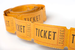 Toll of vintage tickets Royalty Free Stock Photography