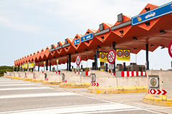 Toll Zone Stock Image
