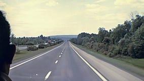 Tollbooth шоссе к Парижу акции видеоматериалы