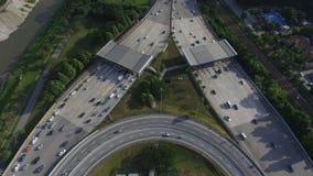 Tollbooth шоссе Стоковые Изображения