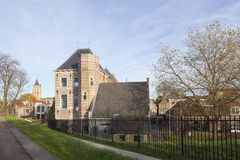 Tollhouse in dutch town of gorinchem in holland Stock Photos