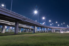 Tollway express road Royalty Free Stock Photos