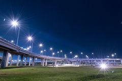 Tollway express road Royalty Free Stock Photo
