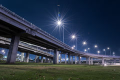 Tollway express road Stock Image