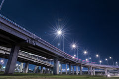 Tollway express road Stock Images