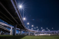 Tollway express road Stock Photography